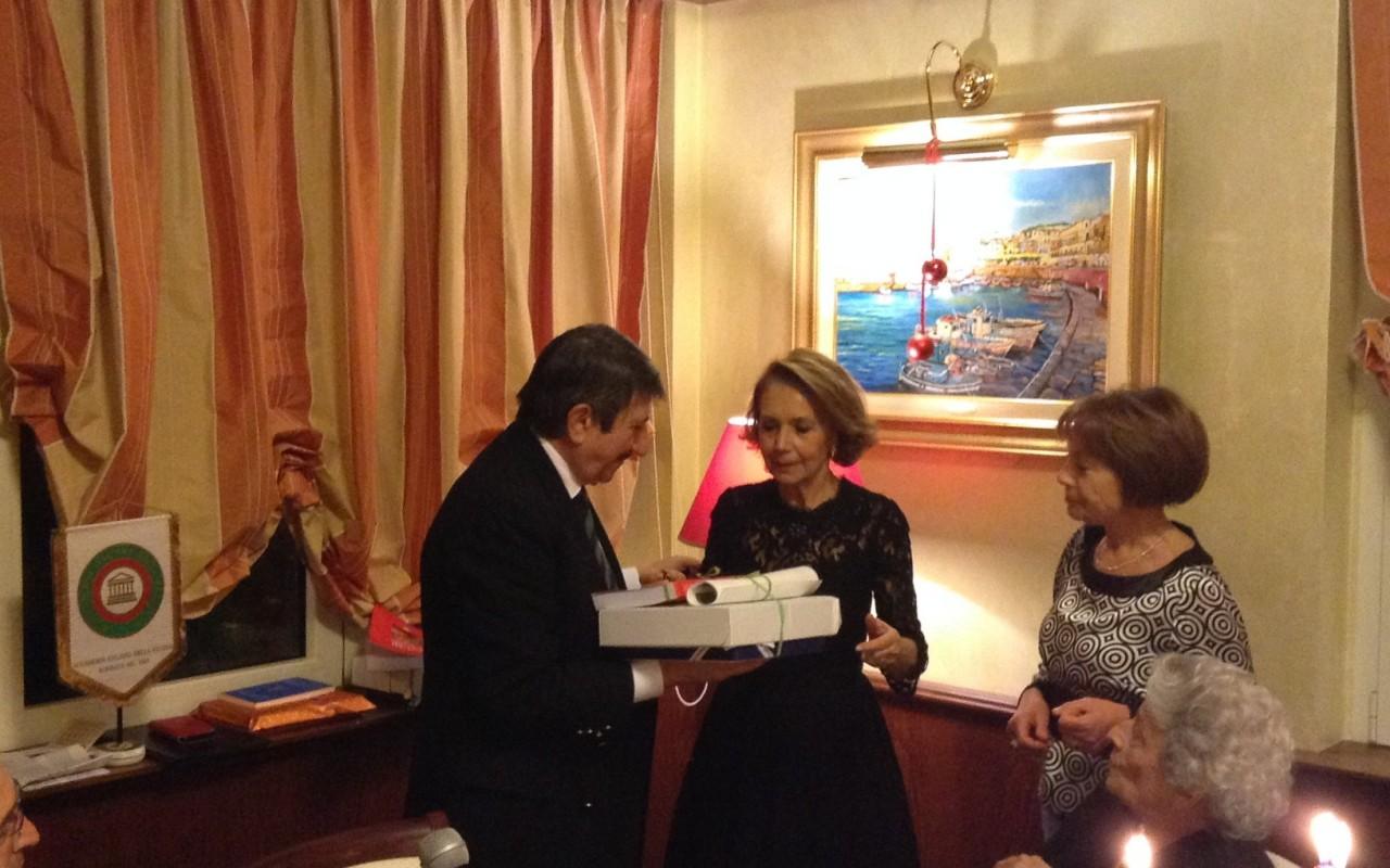Rosario branda è il delegato cosentino dell accademia italiana
