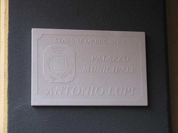 Targa Antonio Lupi