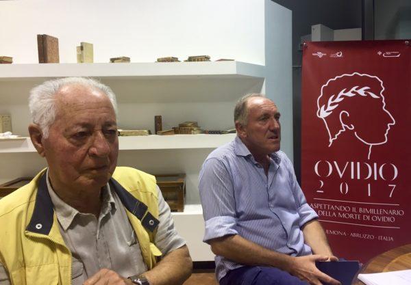 Giancarlo Colangelo insieme allo zio Cleto Salvatore, in passato musicista dell'orchestra di Ennio Morricone