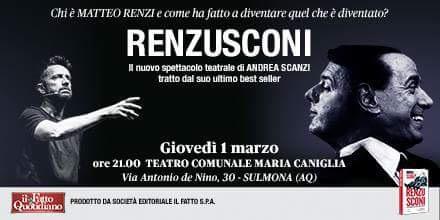 ANDREA SCANZI AL CANIGLIA CON RENZUSCONI - ReteAbruzzo.com