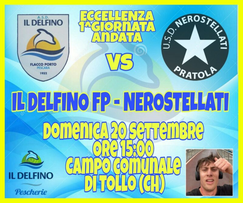 DELFINO FLACCO PORTO-NEROSTELLATI, DOMENICA IN CAMPO ...
