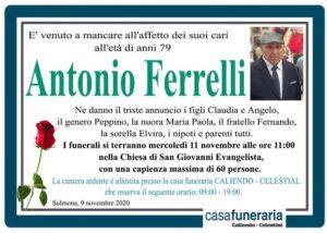 Antonio Ferrelli Funerario