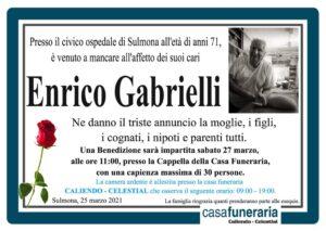 Funerario Enrico Gabrielli