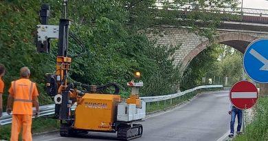 UN GUARD RAIL PER IL SOTTOPASSO DI PONTE S.PANFILO